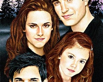 Breaking Dawn Family print