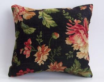 Black LInen Accent Pillow