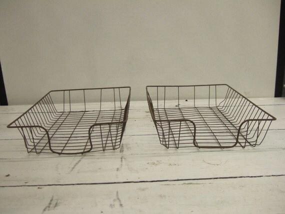 industrial wire baskets