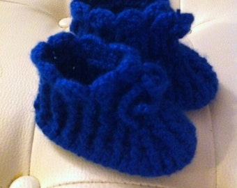 Toddlers slippers , BABY  boy or girl slippers, slippers with sole