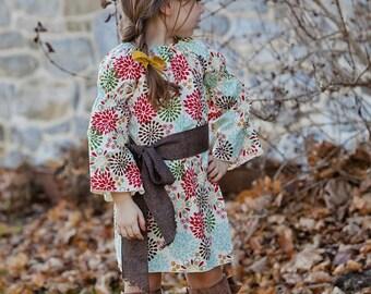 Maryjane Peasant Top or Dress - pdf tutorial- Nb-12Y