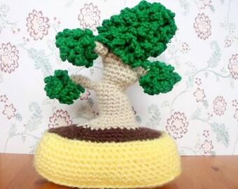 Bonsai Amigurumi Crochet PDF Pattern INSTANT DOWNLOAD