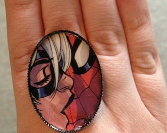 Custom Comic Book ring