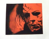 The Devil's Eyes - Original artwork by Zombie Rust - Halloween - Michael Myers