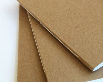BULK listing for 50 Kraft paper mini notebooks