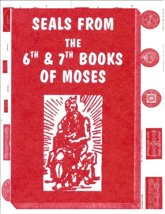 Six and seven books of moses