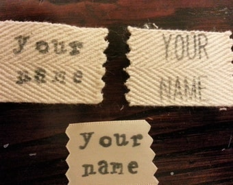 Clothing Name Tag