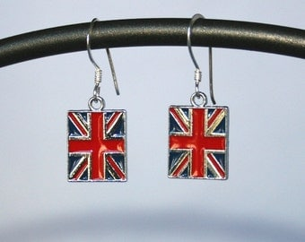 British Flag (Union Jack) earrings