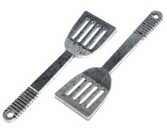 Kitchen Utensil Charm- Spatula- Set of 2 -176-
