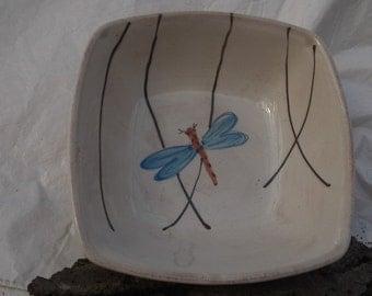 SALE Ceramic Serving Bowl Asian style
