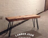 Reclaimed Wood Bench / Coffee Table