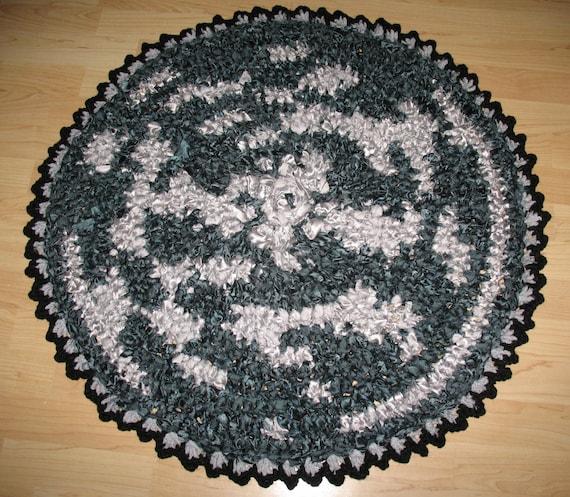 Items Similar To Boho Rug, Crochet Rug, Eco Rug, Rag Rug