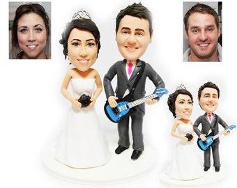 gteau de mariage personnalis topper artistes musicaux livraison gratuite - Figurine Mariage Personnalise