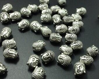 100  pcs  Bulk  Buddha  Bead  , Yoga Beads , Meditation Beads  for Making Spiritual Meditation Jewelry  ( C 178 )