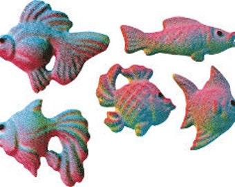25  Edible Fish Assorted  Sugars        Simply Darling