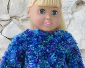"Fancy sweater for an 18"" doll. - TinaDollDesigns"