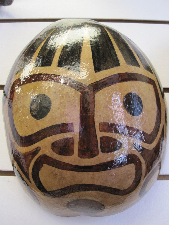 Taino Indian Mask Caribbean Puerto Rico