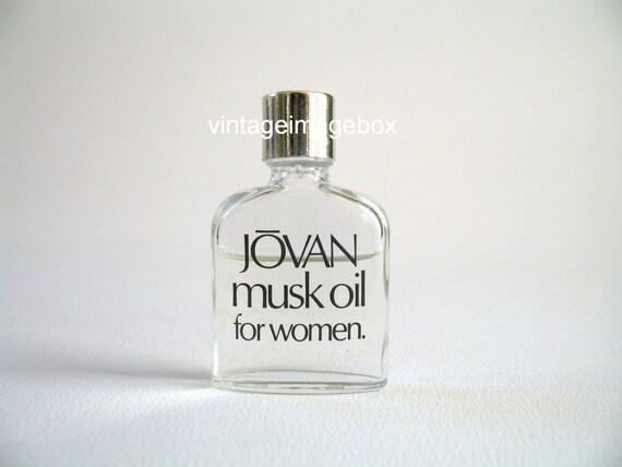 jovan musk oil for women vintage mini by vintageimagebox. Black Bedroom Furniture Sets. Home Design Ideas