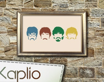 The BEATLES Cross Stitch Pattern [PDF FILE]