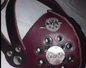 Steampunk Leather Respirators .