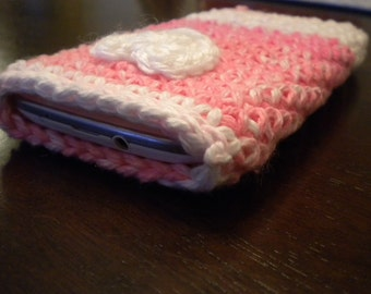 Crocheted Cozy Phone Case