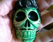 day of the dead zombie ornament calaca