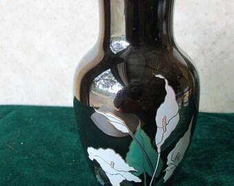 Black Japanese vase