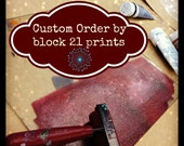 custom order for Lora
