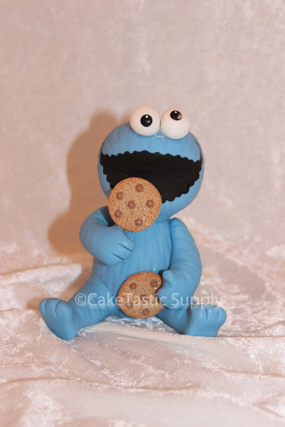 cookie monster party favor cookie monster by caketasticsupply