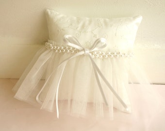 dress wedding ring pillow