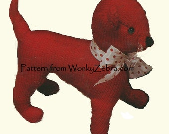 Vintage Knit Pattern Cat Slippers and Mat PDF 505 from ToyPatternLand by WonkyZebra