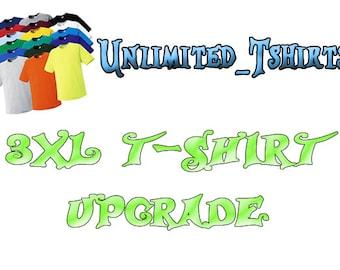 3XL t-shirt Upgrade