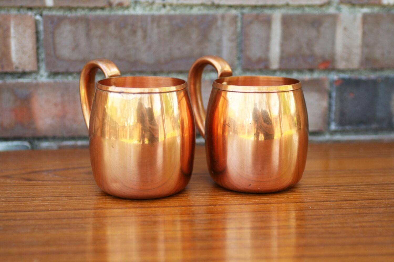 vintage west bend copper mug. Black Bedroom Furniture Sets. Home Design Ideas