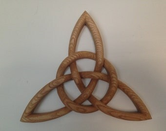 Hand Carved Trinity Knot