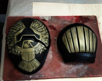 Dredd 3D Shoulder pad kit