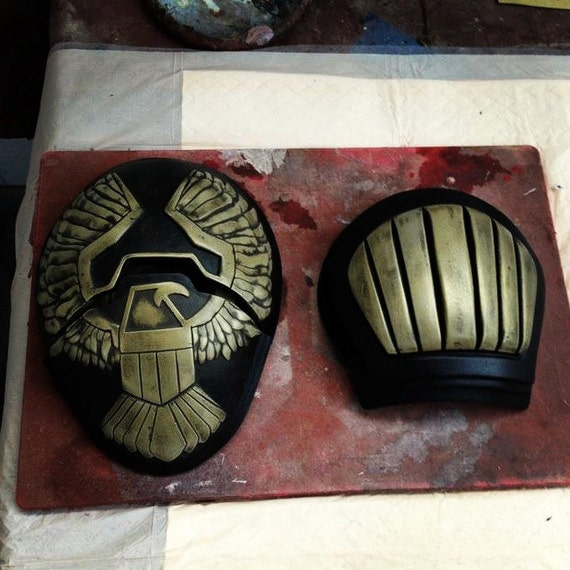 Dredd 3D Shoulder pad kit