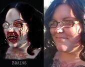 Custom zombie portrait