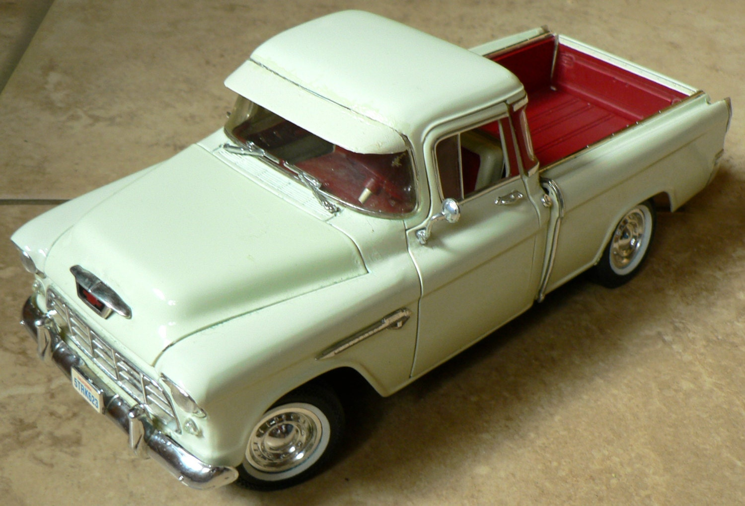 Toy Model Trucks : Ertl diecast toy chevy pick up truck collectible model