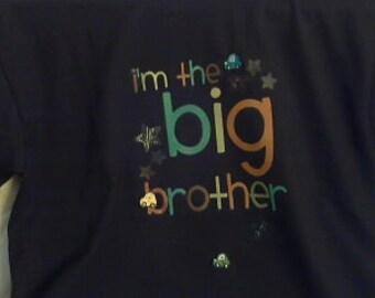 Big brothers t shirt, med (10/12) black