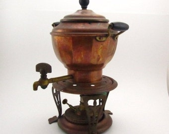COFFEE POT, COPPER coffee pot, antique, tea pot, Oil burner