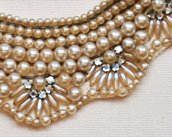 Wedding collar -No. 1- Exceptional beaded collar