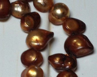 Irregular Dyed Fresh Water Pearls 7 to 14 MM Size