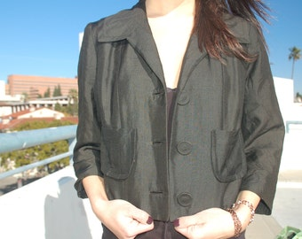 Black Mod Blazer