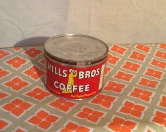 Old/vintage Hills Brothers Coffee.