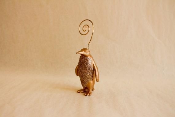 Place Card Holder Penguin