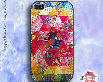 Crazy Quilt - iPhone 4/4S 5/5S/5C/6/6+ and now iPhone 7 cases!! And Samsung Galaxy S3/S4/S5/S6/S7
