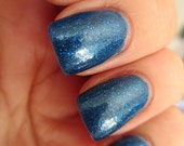 Smaller on the Outside - handmade nail polish inspired by Doctor Who