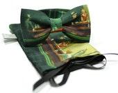 marthu bow tie NIGHTHAWKS Edward Hopper amazing new collection spring 2013 model m0137 - MARTHUcom