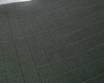 Black Or Very Dark Gray Color Fabric - This is for 4 Yards long Fabric