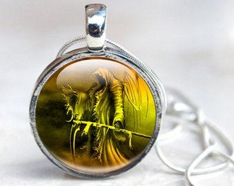 Grim Reaper Necklace - Death Necklace - Grim Reaper Jewelry (death 1)